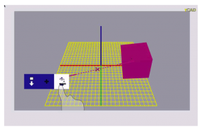 tCAD: a 3D modeling application on a depth enhanced tabletop computer