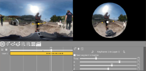 Cue Control: Interactive Sound Spatialization for 360º Videos